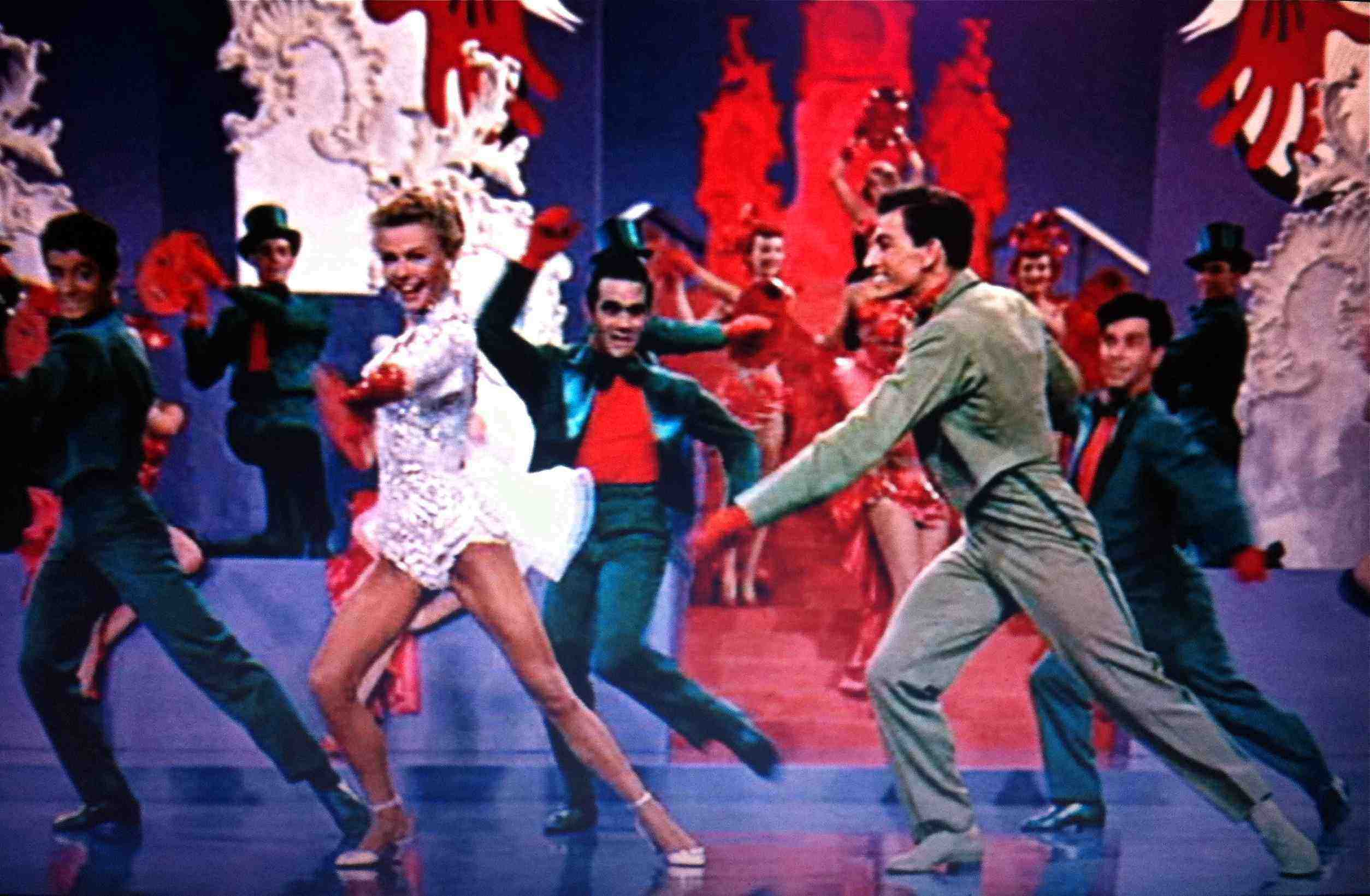 Mandy dance sequence in White Christmas | Hollywood-Vera Ellen ...