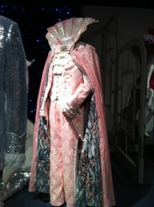 """Liberace's elaborate """"Neptune"""" costume from Behind the Candelabra (photo by Brianne Gillen)"""