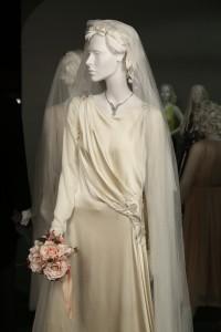 Lady Edith's Wedding Gown from Downton Abbey (photo by Alex J. Berliner/ABImages, courtesy of FIDM Museum)