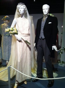 The stunning wedding clothes for Downton Abbey's Lady Mary & Matthew Crawley (photo by Brianne Gillen)