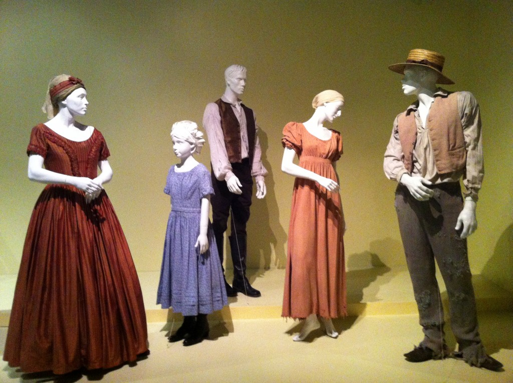 Oscar-nominated designs by Patricia Norris for 12 Years a Slave (photo by Brianne Gillen)