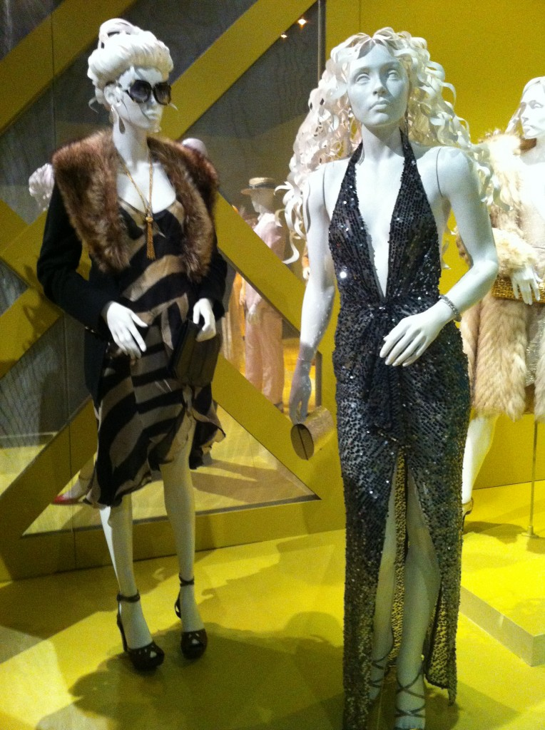 Costumes for Jennifer Lawrence & Amy Adams in American Hustle (photo by Brianne Gillen)