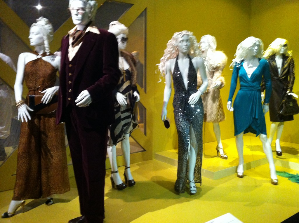 Michael Wilkinson's Oscar-nominated costumes from American Hustle (photo by Brianne Gillen)