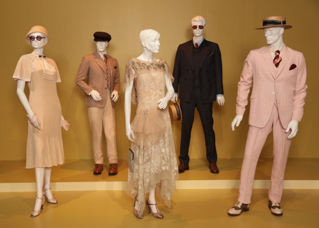 Catherine Martin's Oscar-nominated costumes from The Great Gatsby (photo by Alex J. Berliner / ABImages, courtesy of FIDM Museum)