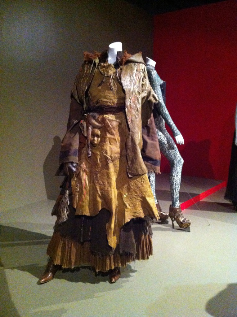 Witch costume with mask detail from Hansel & Gretel: Witch Hunters (photo by Brianne Gillen)