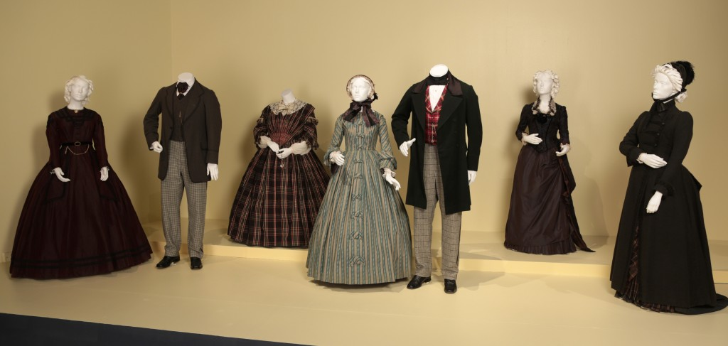 Michael O'Connor's Oscar-nominated designs for The Invisible Woman (photo by Alex J. Berliner / ABImages, courtesy of FIDM Museum)