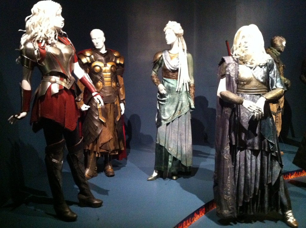 Costumes from Thor: The Dark World (photo by Brianne Gillen)