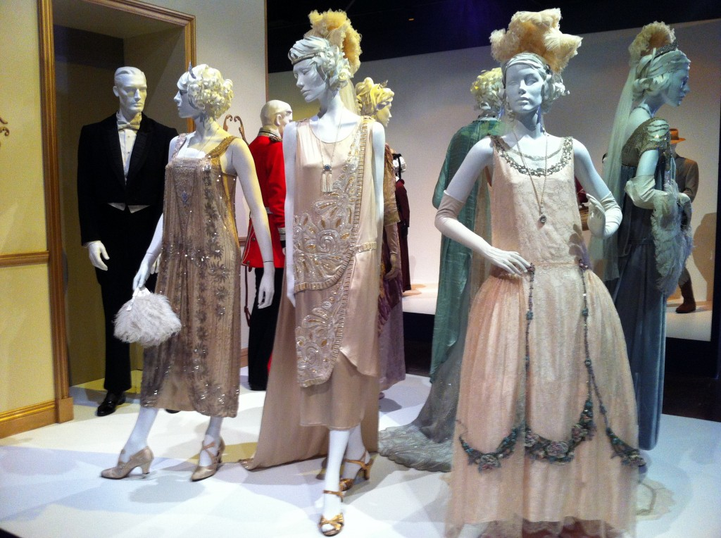A sampling of the finery on Downton Abbey, by costume designer Caroline McCall