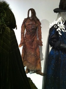 Creepy leather detailing from Salem